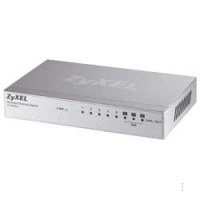 ZyXEL ES-108A 8-port 10 / 100Mbps desktop switch, 3xQoS